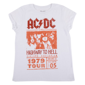 AC/DC 1979 Highway to Hell World Tour Crystal T-shirt