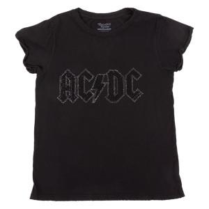 AC/DC Black Crystal Roll Up T-shirt