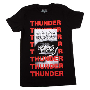 AC/DC Razors Edge Thunder Tee