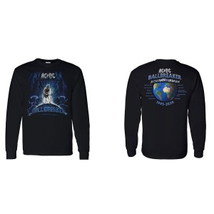 AC/DC Ballbreaker 25th Anniversary Longsleeve T-Shirt