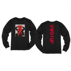 Angus Devil Frame Black Long Sleeve T-Shirt