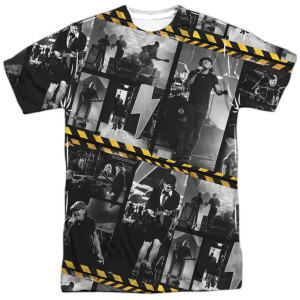 AC/DC PWR UP Photo Tiles Tee
