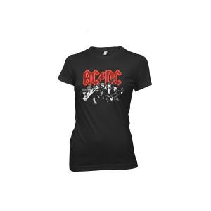 Angus/Brian Ladies Black T-Shirt