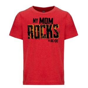 Mom Rocks Youth Tee