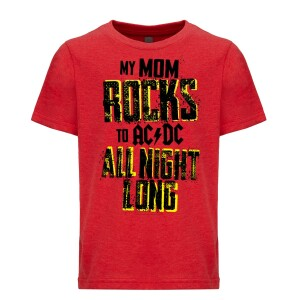 Mom Rocks All Night Long Youth Tee