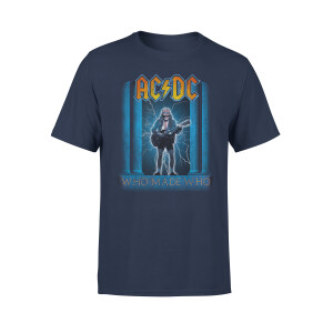 AC/DC Who Made Who Navy Tee