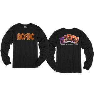 AC/DC Witch's Spell Tarot Longsleeve T-shirt