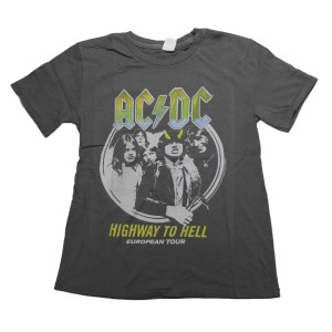 Kids Highway To Hell European Tour Tee