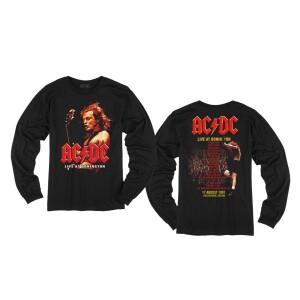 AC/DC Live at Donington Longsleeve T-Shirt