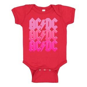AC/DC Kids Pink Pastel Design