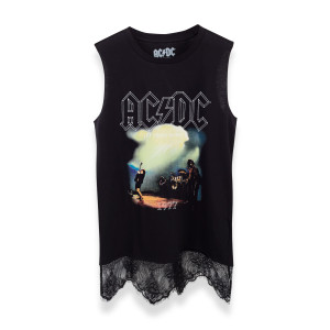 AC/DC Let There Be Rock Fringe Tank