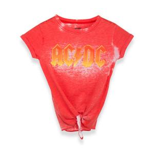AC/DC Juniors Orange Knot Tee