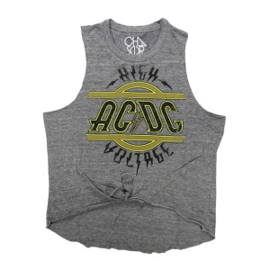 Women's Vintage Voltage Muscle Tee