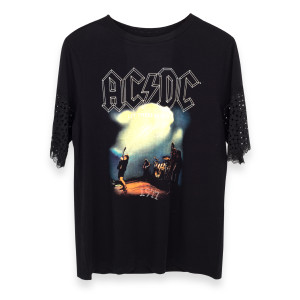AC/DC Let There Be Rock 1977 Fringe T-Shirt