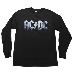 Icy Steel Logo Long-Sleeved T-Shirt