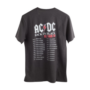 AC/DC Back in Black UK Tour '80 T-Shirt