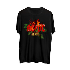 AC/DC Holiday Wish List T-Shirt