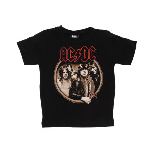 AC/DC Highway to Hell Red Devil Horns Kids T-Shirt