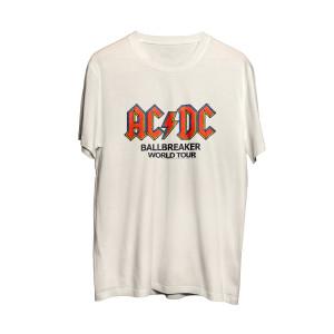 AC/DC Ballbreaker World Tour White T