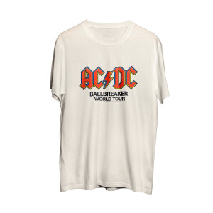AC/DC Ballbreaker World Tour White T
