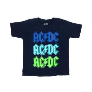 Multi Colored Logo Black T Blue Green