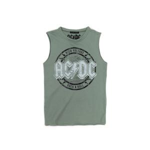 AC/DC High Voltage Green Tank Top