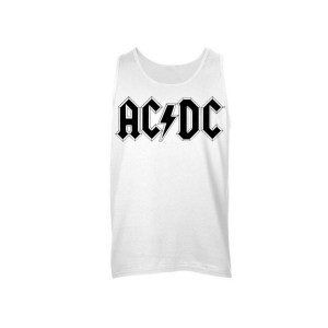 AC/DC Diamond Logo Sleeveless Unisex Muscle Tee