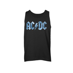 AC/DC Ice Logo Sleeveless Unisex Muscle Tee