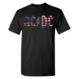 AC/DC Patriotic Bricks T-Shirt