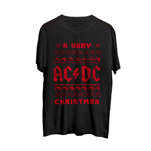 A Very AC/DC Christmas T-shirt