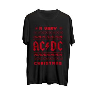 A Very AC/DC Christmas T-shirt