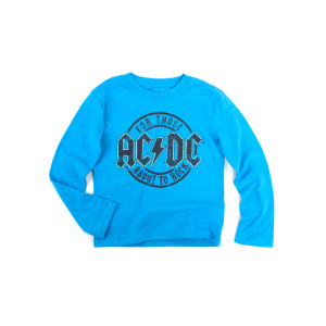 AC/DC For Those About to Rock Kids Blue T-shirt