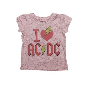 Toddlers I Love AC/DC T-Shirt