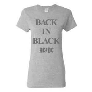 Women's Back In Black T-shirt