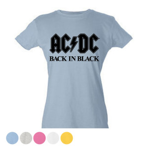 Women's Bold Black T-shirt