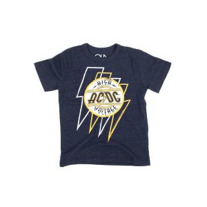 AC/DC Bolted Voltage Boys Crewneck T-shirt