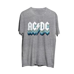 AC/DC Grey Logo T-Shirt