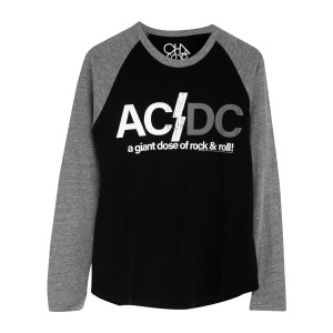"""A Giant Dose of Rock & Roll"" Raglan"
