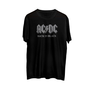 AC/DC - Back In Black Logo Shirt