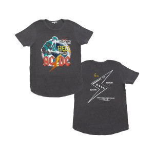 AC/DC - Presents Highway to Hell Grey T-shirt