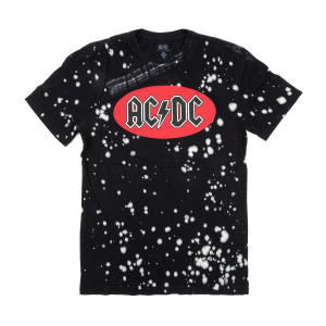 AC/DC Spotted Black Spotted T-shirt