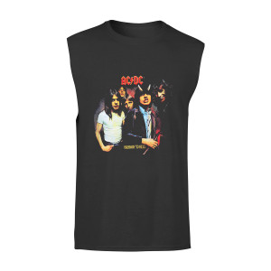 AC/DC Highway to Hell Photo Black T-Shirt