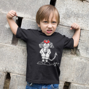 Angus Signature Cartoon Youth T-shirt