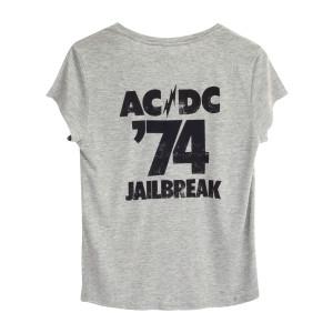 AC/DC Jailbreak 3 Button Ladies T-Shirt