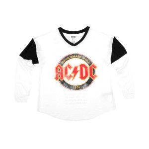 AC/DC Long Sleeve 1976 High Voltage Tour T-shirt
