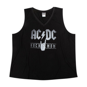 AC/DC Womens Rock Mom Tank