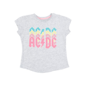 AC/DC Kids Sparkle Logo T-shirt