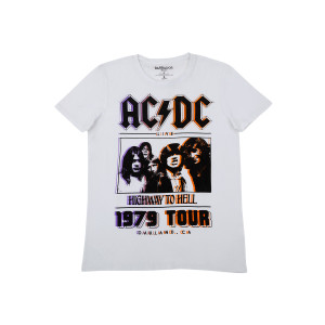 AC/DC Highway to Hell 1979 Oakland, CA T-Shirt