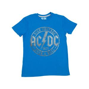 AC/DC High Voltage Juniors Blue Tshirt