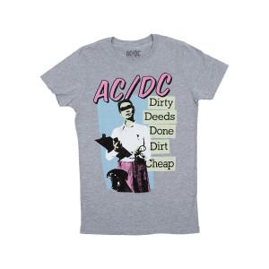 AC/DC Dirty Deeds Men's Fine Jersey T-shirt